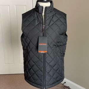 NWT quilted vest